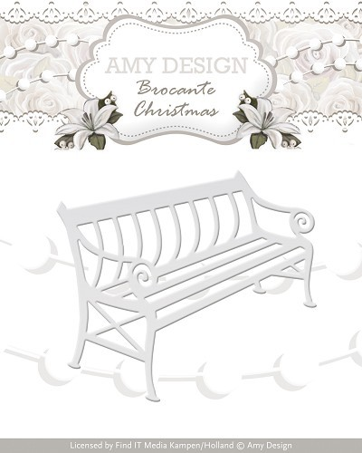 Amy Design: Brocante Christmas; Die, Bench