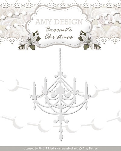 Amy Design: Brocante Christmas; Die, Chandelier
