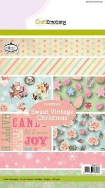 CE: Paper Stack; Sweet Vintage Christmas