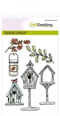 CE: Clear Stamp; Birdhouses