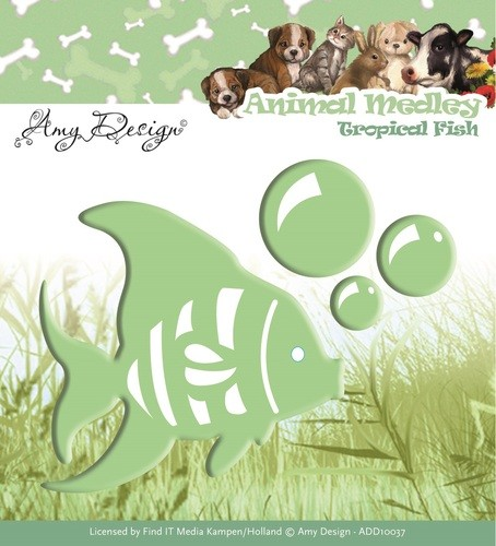 Amy Design: Animal Medley Die; Tropical Fish