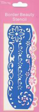 Crafts-Too: Border Beauty Stencil;