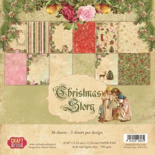 Craft & You: Paperpack 15x15; Christmas Story