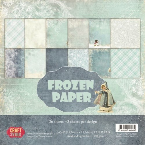 Craft & You: Paperpack 15x15; Frozen