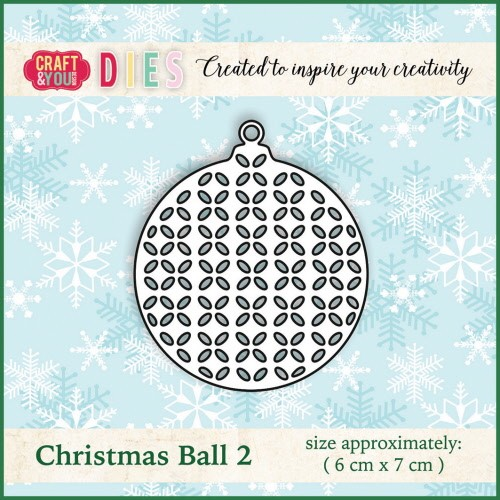 Craft & You: Die; Christmas Ball 2