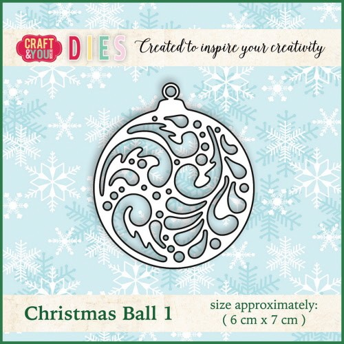 Craft & You: Die; Christmas Ball 1