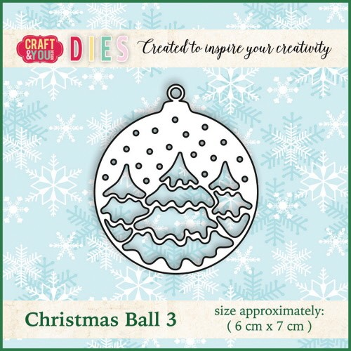 Craft & You: Die; Christmas Ball 3