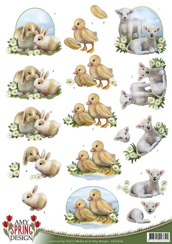 Amy Design - Spring: Animals