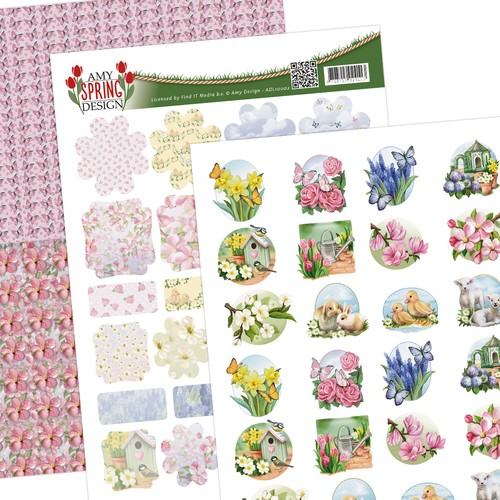 Amy Design - Spring: Minis and Labels