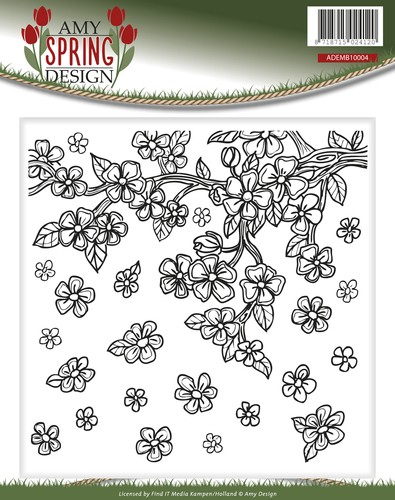 Amy Design - Spring: Embossing Folder