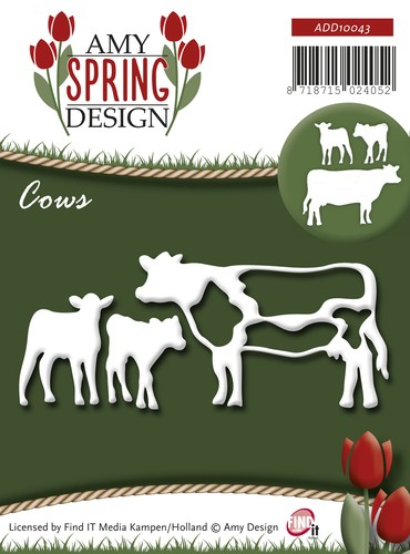 Amy Design - Spring: Die; Cows