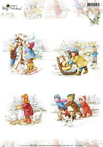 CD: Martare; Pictures Winter - Kids