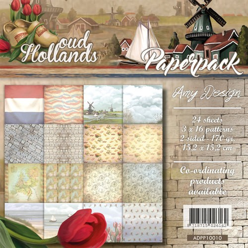 Amy Design: Oud Hollands; Paperpack