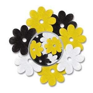 CM: Paper Flowers; Yellow/Black combi