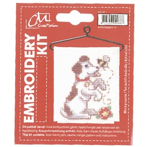 CM: Embroidery Kit; Dog