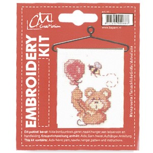 CM: Embroidery Kit; Bear