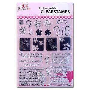 CM: Clear Stamps; X-mas 3