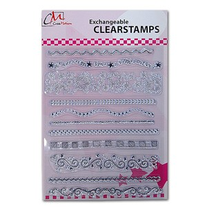 CM: Clear Stamps; X-mas 4