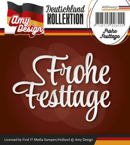 Amy Design: Die; Frohe Festtage