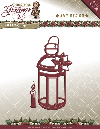 Amy Design - Christmas Greetings: Die, Lantern