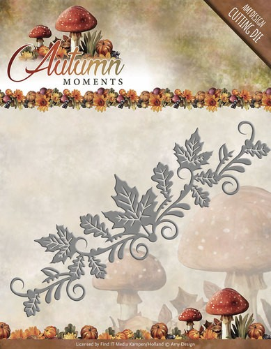 Amy Design: Autumn Moments; Die, Leaves Border