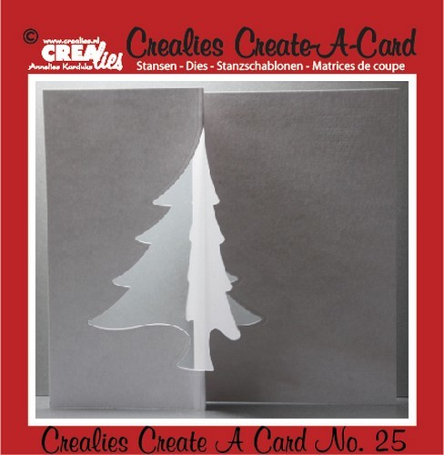Crealies: Create a Card; no 25