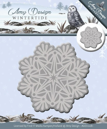 Amy Design - Wintertide - Die - Ice Crystal