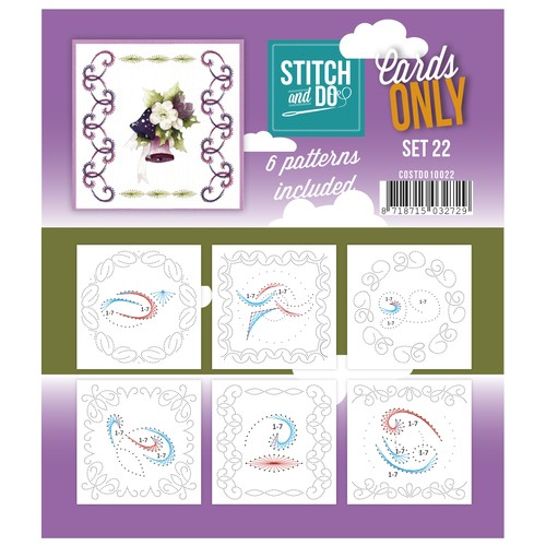 Cards Only: Stitch and Do; set 22