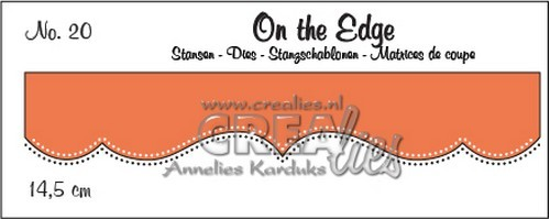 Crealies: On the Edge stans 20