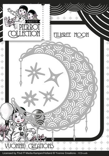 CD: Yvonne; Pretty Pierrot, Die - Filigree Moon