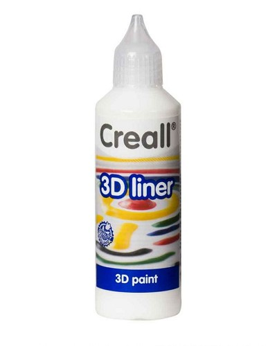 Creall 3D liner: 80 ml; Wit