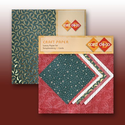 Carddeco Craft Paper: 6 x 12