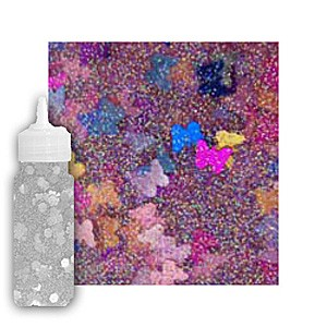 Confetti Glitter Glue: Big Butterfly