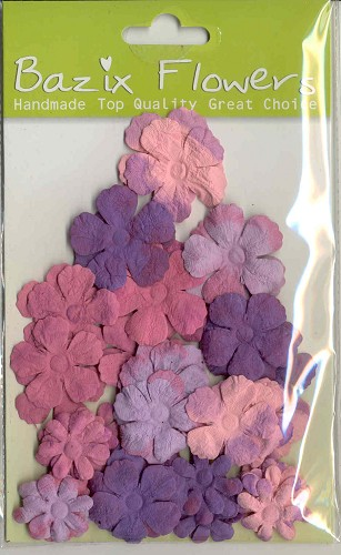 Bazix Flowers: Tye Dyed Gypsies; 56 pcs