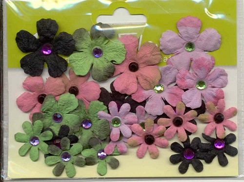 Bazix Flowers: Tye Dyed Gypsies; 24 pcs