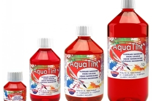 Aqua Tint: Aquarelverf 50 ml; Donkerrood