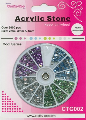 Acrylic Stone Cold Colors