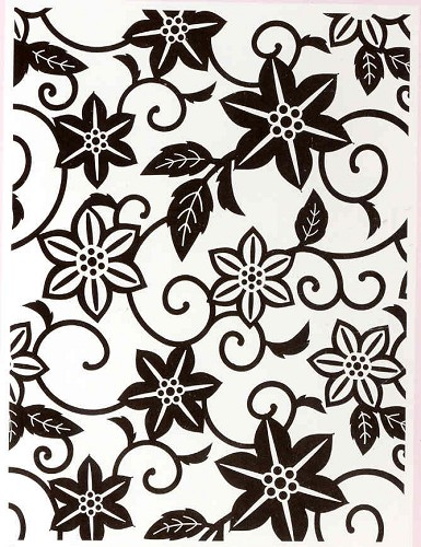 Craft Concepts: Embossing Folder; In Bloom