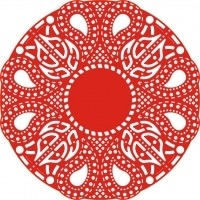 CLD: Die Celtic Fire Doily
