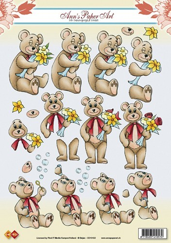 CD: Ann`s; Flower Teddy