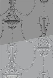Couture Creations: Embossing folder; Victorian