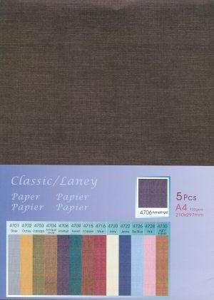 5 vel Classic Paper Laney: Antique Gold