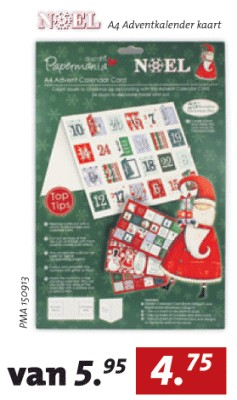 A4 Advent Calender kit