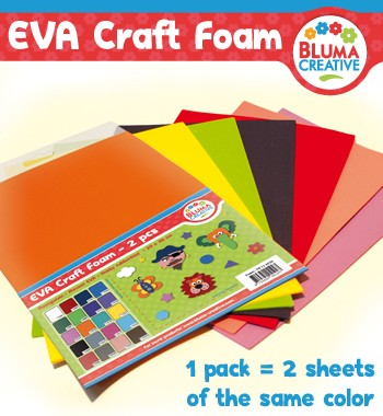 Bluma Creative: EVA Foam hobby rubber;  MIX