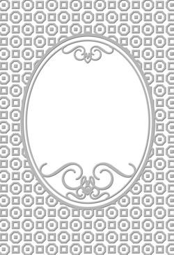 CC: Embossing folder 5 x 7; Bradshaw
