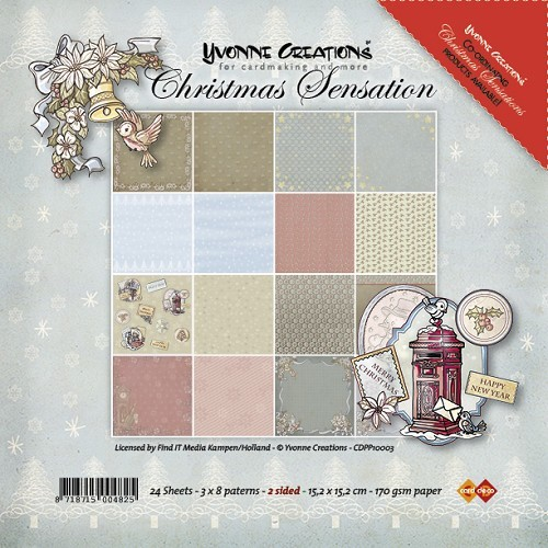CD: Yvonne; Paperpack Christmas Sensation