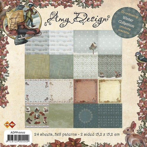 CD: Paperpad Amy`s Wintercollection