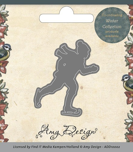 Amy Design - Die - Ice skater (ADD10002)